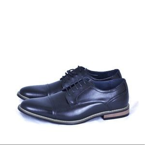 Zriang Dress Shoes Cap Toe Oxford Lace Up